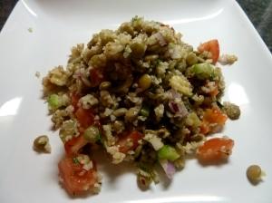 Lentil-Bulgur Salad