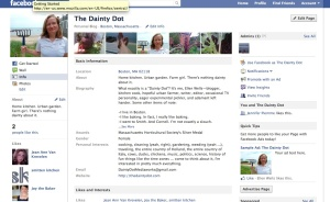 The Dainty Dot Facebook page
