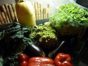 Farmers market fare from Farmer Dave's