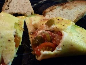 homegrown omelet