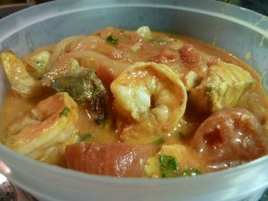 mocquea - brazilian fish stew