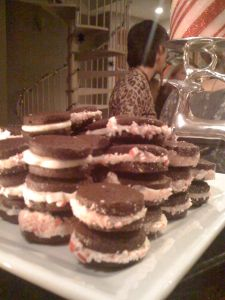 Peppermint oreos