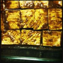 marinating tofu